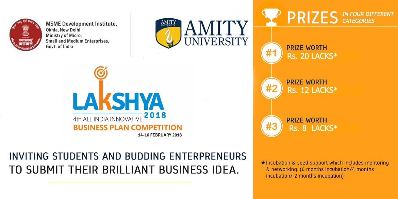 amity university lakshya 2018