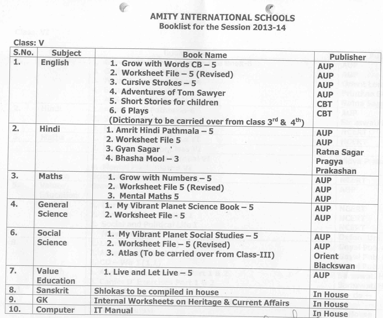 AMITY INTERNATIONAL SCHOOL, Gurgaon