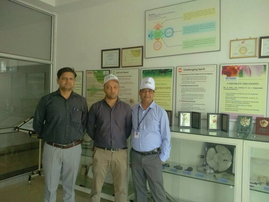 Industrial Visit to Mitsuba Sical and Tex Corp Ltd Details